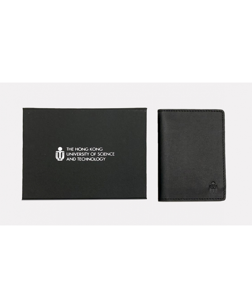 Bifold leather card holder