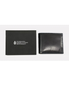 HKUST Slim Handcrafted Genuine Leather Bifold Wallet
