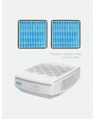 Bundle of PPP Air Purifier PPP-50-01 For Baby With KV Filter + Extra KV Filter