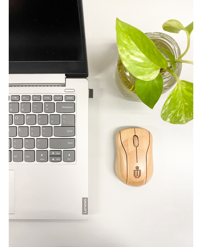 HKUST Bamboo Wireless Mouse